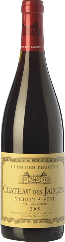 24,95 € | Red wine Louis Jadot Château des Jacques Clos des Thorins Crianza A.O.C. Moulin à Vent Beaujolais France Gamay Bottle 75 cl