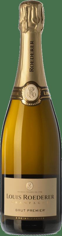 589,95 € | White sparkling Louis Roederer Premier Brut Gran Reserva A.O.C. Champagne Champagne France Pinot Black, Chardonnay, Pinot Meunier Imperial Bottle-Mathusalem 6 L