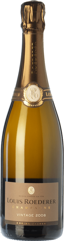 86,95 € | White sparkling Louis Roederer Vintage Gran Reserva 2009 A.O.C. Champagne Champagne France Pinot Black, Chardonnay Bottle 75 cl