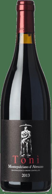 39,95 € | Red wine Cataldi Madonna Tonì D.O.C. Montepulciano d'Abruzzo Abruzzo Italy Montepulciano Bottle 75 cl