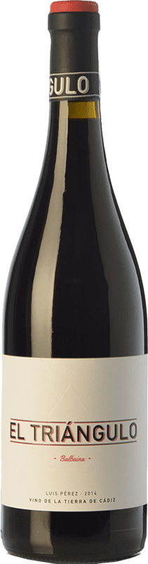 14,95 € Free Shipping | Red wine Luis Pérez El Triángulo Joven I.G.P. Vino de la Tierra de Cádiz Andalusia Spain Tintilla de Rota Bottle 75 cl