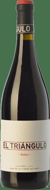 14,95 € Envoi gratuit | Vin rouge Luis Pérez El Triángulo Joven I.G.P. Vino de la Tierra de Cádiz Andalousie Espagne Tintilla de Rota Bouteille 75 cl