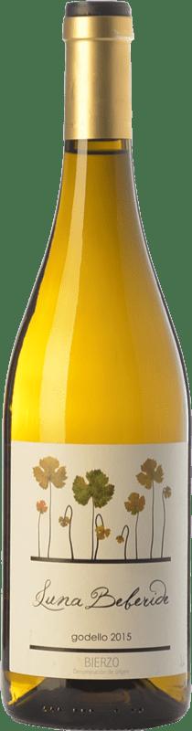 9,95 € Envío gratis | Vino blanco Luna Beberide D.O. Bierzo Castilla y León España Godello Botella 75 cl