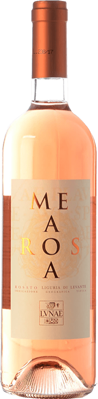 13,95 € Free Shipping | Rosé wine Lunae Mea Rosa I.G.T. Liguria di Levante Liguria Italy Vermentino Black Bottle 75 cl