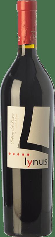17,95 € Envío gratis | Vino tinto Lynus Crianza D.O. Ribera del Duero Castilla y León España Tempranillo Botella 75 cl