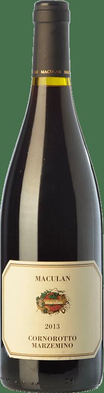11,95 € | Red wine Maculan Cornorotto I.G.T. Veneto Veneto Italy Marzemino Bottle 75 cl