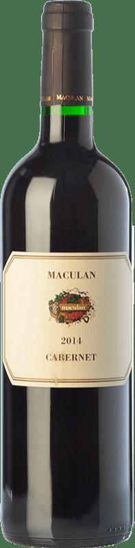 9,95 € | Red wine Maculan Cabernet I.G.T. Veneto Veneto Italy Cabernet Sauvignon, Cabernet Franc Bottle 75 cl