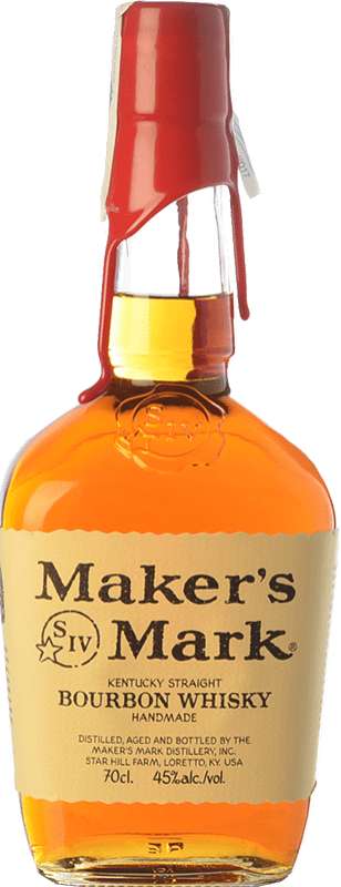 26,95 € Free Shipping | Bourbon Maker's Mark Original Kentucky United States Bottle 75 cl