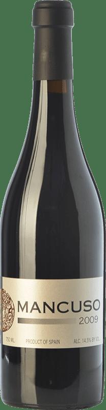 39,95 € Free Shipping | Red wine Mancuso Crianza I.G.P. Vino de la Tierra de Valdejalón Aragon Spain Grenache Bottle 75 cl