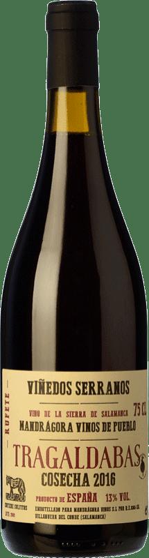19,95 € Envoi gratuit | Vin rouge Mandrágora Tragaldabas Joven D.O.P. Vino de Calidad Sierra de Salamanca Castille et Leon Espagne Rufete, Aragonez Bouteille 75 cl