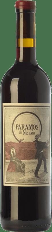 15,95 € Envío gratis | Vino tinto Máquina & Tabla Páramos de Nicasia Crianza D.O. Toro Castilla y León España Tinta de Toro Botella 75 cl