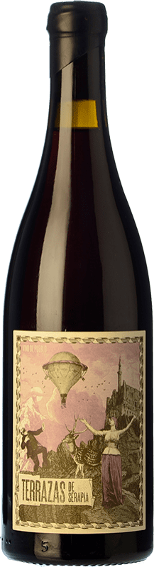 12,95 € | Red wine Máquina & Tabla Terrazas de Serapia Crianza I.G.P. Vino de la Tierra de Castilla y León Castilla y León Spain Grenache Bottle 75 cl