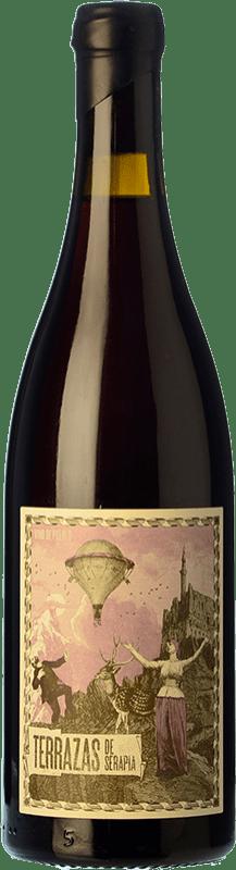 12,95 € Envío gratis | Vino tinto Máquina & Tabla Terrazas de Serapia Crianza I.G.P. Vino de la Tierra de Castilla y León Castilla y León España Garnacha Botella 75 cl