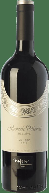 19,95 € Envío gratis | Vino tinto Pelleriti Reserve Reserva I.G. Valle de Uco Valle de Uco Argentina Malbec Botella 75 cl
