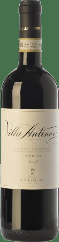 59,95 € | Red wine Marchesi Antinori Villa Antinori Riserva Reserva D.O.C.G. Chianti Classico Tuscany Italy Merlot, Cabernet Sauvignon, Sangiovese Magnum Bottle 1,5 L