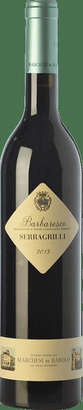38,95 € Free Shipping | Red wine Marchesi di Barolo Serragrilli D.O.C.G. Barbaresco Piemonte Italy Nebbiolo Bottle 75 cl