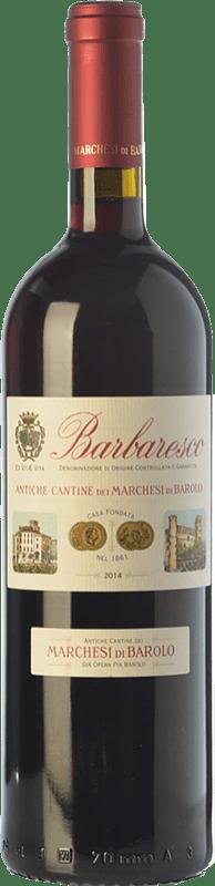 24,95 € Free Shipping | Red wine Marchesi di Barolo Tradizione D.O.C.G. Barbaresco Piemonte Italy Nebbiolo Bottle 75 cl