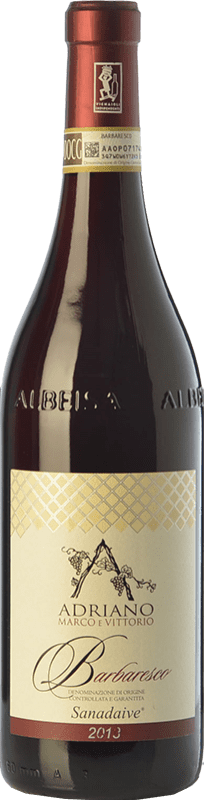 26,95 € Free Shipping | Red wine Adriano Sanadaive D.O.C.G. Barbaresco Piemonte Italy Nebbiolo Bottle 75 cl