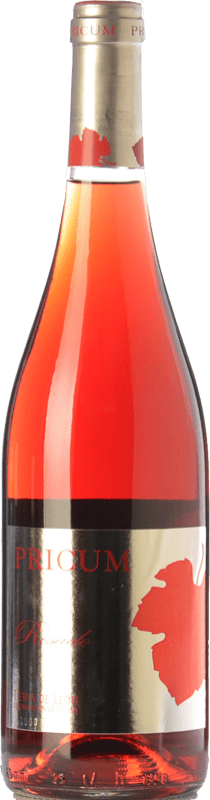 9,95 € | Rosé wine Margón Pricum D.O. Tierra de León Castilla y León Spain Prieto Picudo Bottle 75 cl