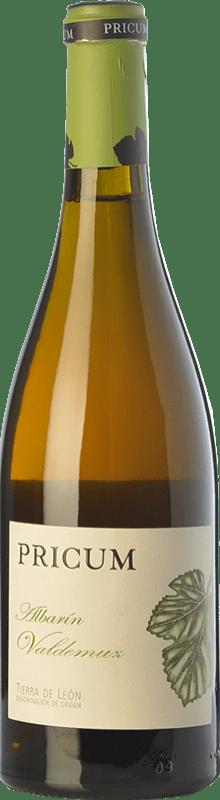 29,95 € Envío gratis | Vino blanco Margón Pricum Valdemuz Crianza D.O. León Castilla y León España Albarín Botella 75 cl