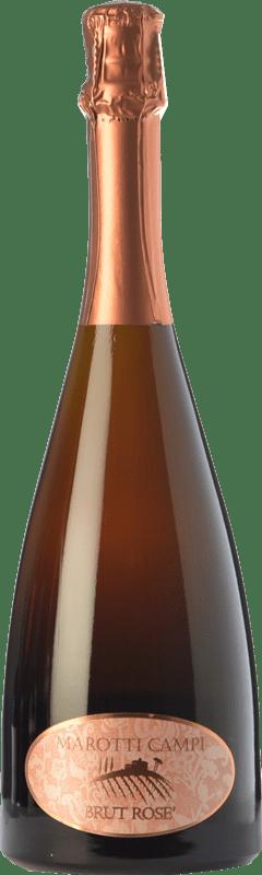 9,95 €   Rosé sparkling Marotti Campi Rosé Brut D.O.C. Lacrima di Morro d'Alba Marche Italy Lacrima Bottle 75 cl