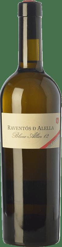 19,95 € 免费送货   白酒 Raventós Marqués d'Alella Blanc Allier Crianza D.O. Alella 加泰罗尼亚 西班牙 Chardonnay 瓶子 75 cl