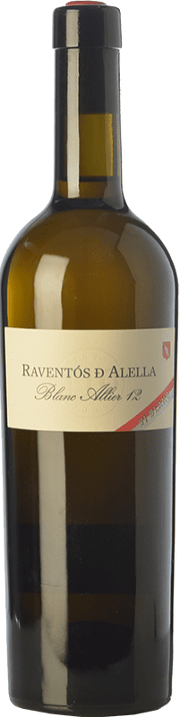 19,95 € Free Shipping | White wine Raventós Marqués d'Alella Blanc Allier Crianza D.O. Alella Catalonia Spain Chardonnay Bottle 75 cl