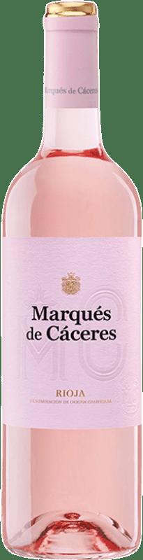 5,95 € 免费送货 | 玫瑰酒 Marqués de Cáceres D.O.Ca. Rioja 拉里奥哈 西班牙 Tempranillo, Grenache 瓶子 75 cl