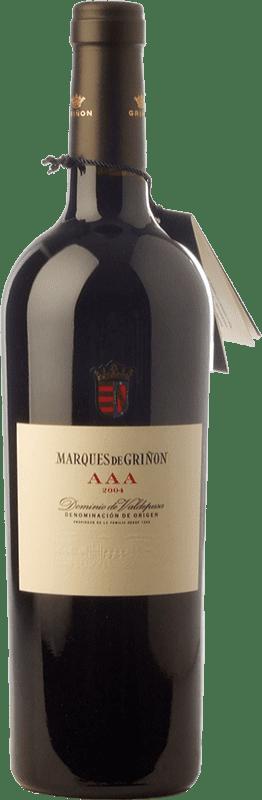 165,95 € Envoi gratuit | Vin rouge Marqués de Griñón AAA Reserva 2008 D.O.P. Vino de Pago Dominio de Valdepusa Castilla La Mancha Espagne Graciano Bouteille 75 cl