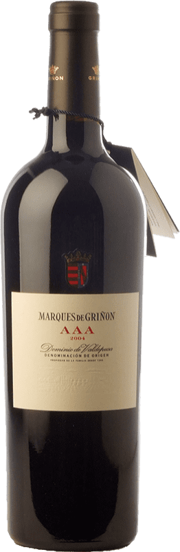 Envío gratis | Vino tinto Marqués de Griñón AAA Reserva 2008 D.O.P. Vino de Pago Dominio de Valdepusa Castilla la Mancha España Graciano Botella 75 cl