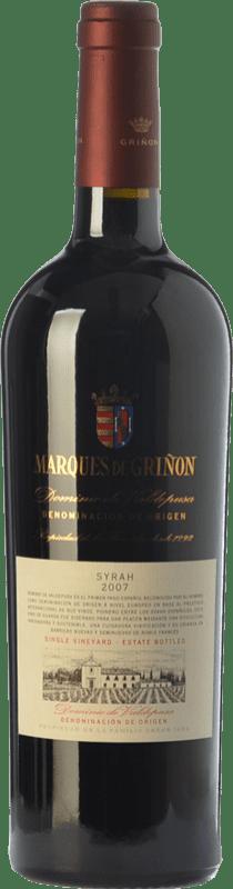 Free Shipping | Red wine Marqués de Griñón Crianza 2014 D.O.P. Vino de Pago Dominio de Valdepusa Castilla la Mancha Spain Syrah Bottle 75 cl