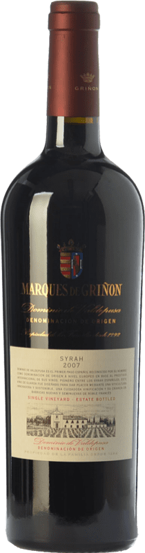 Envío gratis | Vino tinto Marqués de Griñón Crianza 2014 D.O.P. Vino de Pago Dominio de Valdepusa Castilla la Mancha España Syrah Botella 75 cl