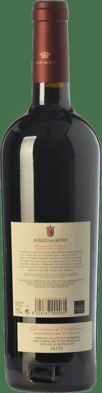 24,95 € | Red wine Marqués de Griñón Crianza D.O.P. Vino de Pago Dominio de Valdepusa Castilla la Mancha Spain Syrah Bottle 75 cl