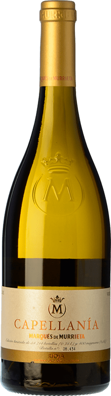 26,95 € | White wine Marqués de Murrieta Capellanía Crianza D.O.Ca. Rioja The Rioja Spain Viura Bottle 75 cl