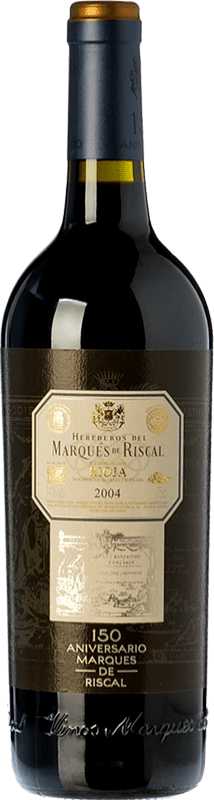 49,95 € | Red wine Marqués de Riscal 150 Aniversario Gran Reserva 2010 D.O.Ca. Rioja The Rioja Spain Tempranillo, Graciano Bottle 75 cl