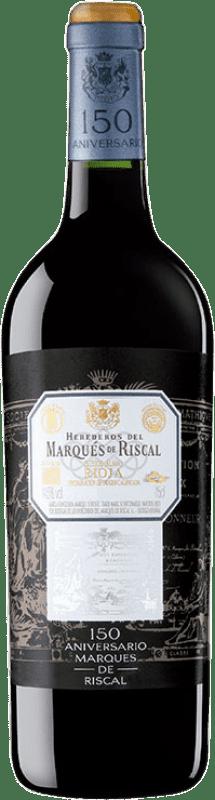54,95 € Envoi gratuit   Vin rouge Marqués de Riscal 150 Aniversario Gran Reserva 2010 D.O.Ca. Rioja La Rioja Espagne Tempranillo, Graciano Bouteille 75 cl