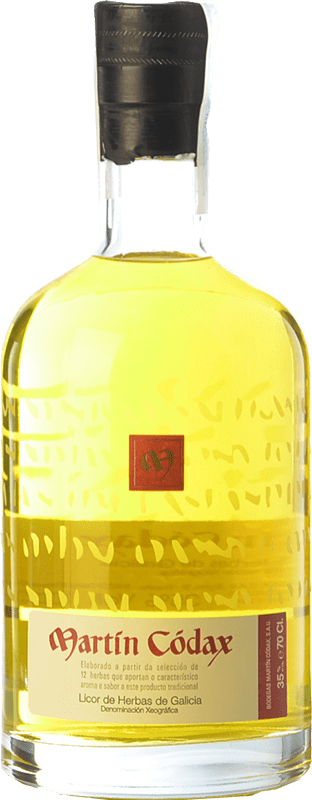 15,95 € Free Shipping | Herbal liqueur Martín Códax D.O. Orujo de Galicia Galicia Spain Bottle 70 cl