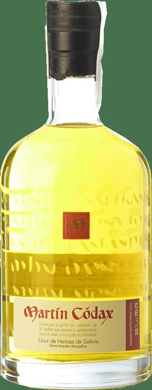 15,95 € 免费送货 | 草药利口酒 Martín Códax D.O. Orujo de Galicia 加利西亚 西班牙 瓶子 70 cl