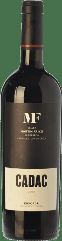 39,95 € 免费送货 | 红酒 Martín Faixó MF Cadac Crianza D.O. Empordà 加泰罗尼亚 西班牙 Grenache, Cabernet Sauvignon 瓶子 75 cl