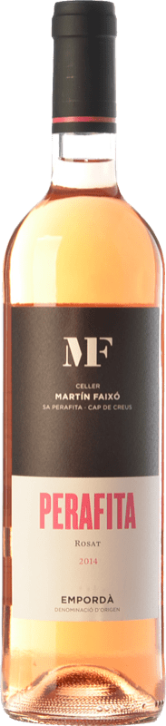11,95 € 免费送货 | 玫瑰酒 Martín Faixó MF Perafita Rosat D.O. Empordà 加泰罗尼亚 西班牙 Merlot, Grenache 瓶子 75 cl