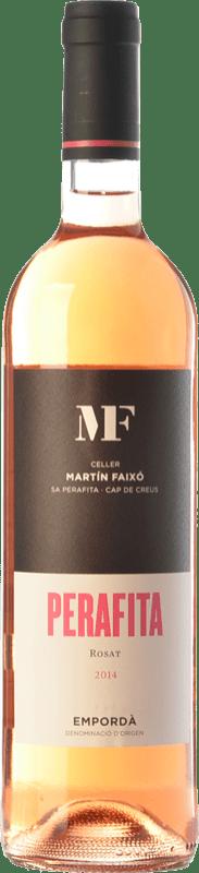 11,95 € Envío gratis   Vino rosado Martín Faixó MF Perafita Rosat D.O. Empordà Cataluña España Merlot, Garnacha Botella 75 cl