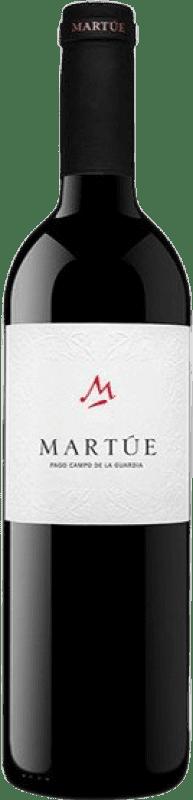 9,95 € | Red wine Martúe Joven D.O.P. Vino de Pago Campo de la Guardia Castilla la Mancha Spain Tempranillo, Merlot, Syrah, Cabernet Sauvignon Bottle 75 cl