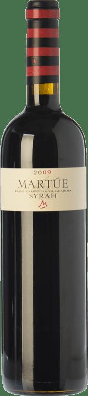 18,95 € | Red wine Martúe Crianza D.O.P. Vino de Pago Campo de la Guardia Castilla la Mancha Spain Syrah Bottle 75 cl