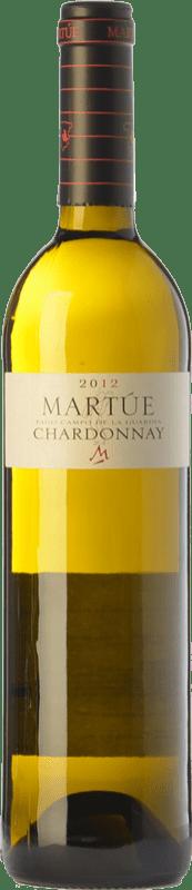 9,95 € | White wine Martúe Crianza D.O.P. Vino de Pago Campo de la Guardia Castilla la Mancha Spain Chardonnay Bottle 75 cl