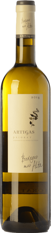 83,95 € | White wine Mas Alta Artigas Blanc Crianza D.O.Ca. Priorat Catalonia Spain Grenache White, Macabeo, Pedro Ximénez Magnum Bottle 1,5 L