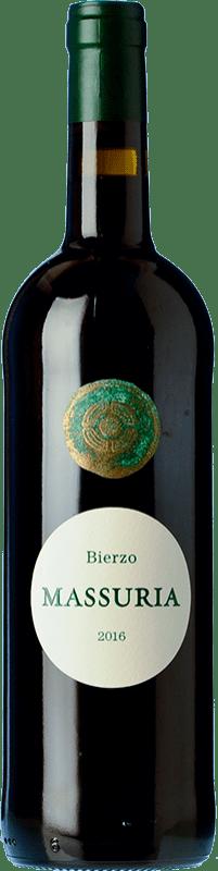 27,95 € Free Shipping | Red wine Más Asturias Massuria Crianza D.O. Bierzo Castilla y León Spain Mencía Bottle 75 cl