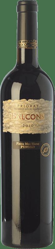 41,95 € Free Shipping | Red wine Mas Blanc Balcons Crianza D.O.Ca. Priorat Catalonia Spain Merlot, Grenache, Cabernet Sauvignon, Carignan Bottle 75 cl