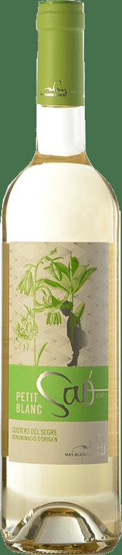 9,95 € | White wine Blanch i Jové Petit Saó Blanc D.O. Costers del Segre Catalonia Spain Grenache White, Macabeo Bottle 75 cl