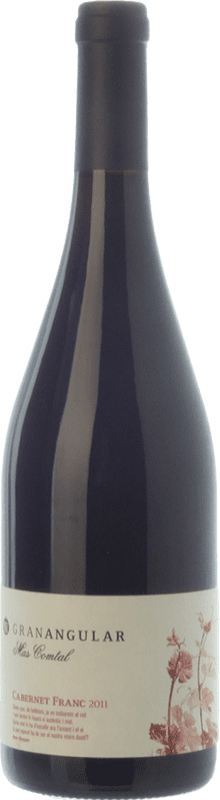 15,95 € Free Shipping | Red wine Mas Comtal Gran Angular Crianza D.O. Penedès Catalonia Spain Cabernet Franc Bottle 75 cl