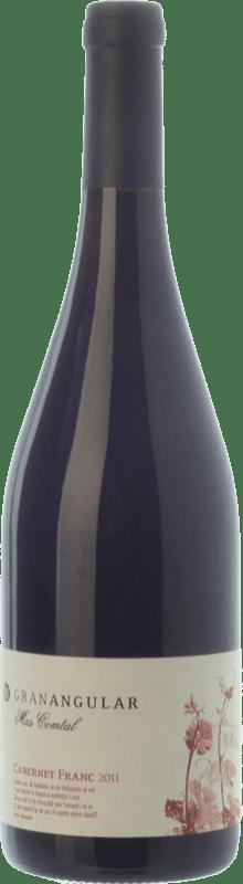 15,95 € Envío gratis | Vino tinto Mas Comtal Gran Angular Crianza D.O. Penedès Cataluña España Cabernet Franc Botella 75 cl